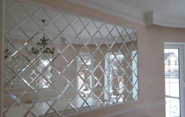 Зеркальные панно, интерьерные зеркала