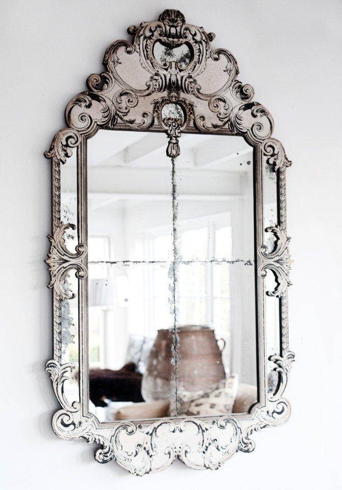 состаренное зеркало