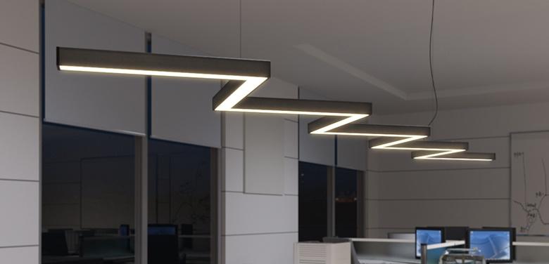 Modular-LED-linear-luminaire