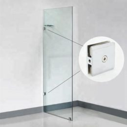 Bathroom-glass-clip-shower